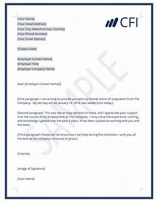 Form Resignation Letter Resignation Letter How To Write A Letter Of Resignation