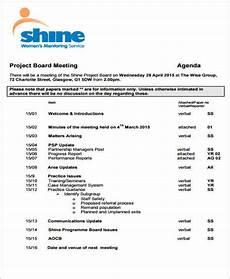 Board Agenda Template Board Agenda Templates 9 Free Word Pdf Format Download