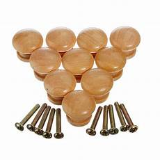 10pcs 25mm wood wooden cabinet knob drawer