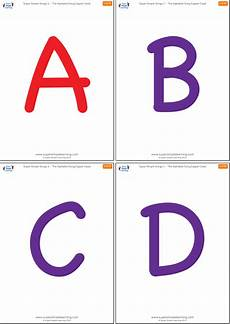 Lowercase Letters Flash Cards Uppercase Alphabet Flashcards Super Simple