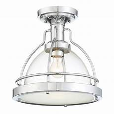 Cordelia Lighting Cordelia Lighting Round 13 In 1 Light Chrome Semi Flush