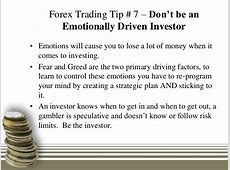 Forex trading tips online for new investors