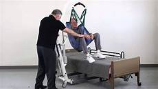 patient lift transfer from chair to bed