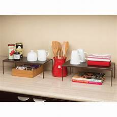 seville classics perforated expandable kitchen cabinet