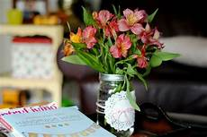 mason jar dolly twine and alstromeria lilys i love this