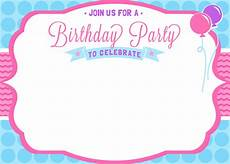Birthday Invitations Girls Free Girls Birthday Invitation Printables Mama Walker