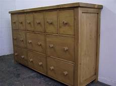 napoli solid pine chunky 12 drawer chest of drawers