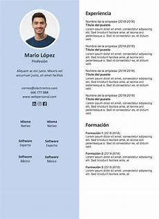 Formato De Curriculum Con Foto 50 Best Curriculum Vitae 2 0 Images On Pinterest Career