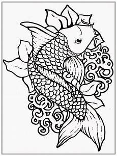 coloring pages adult free fish coloring pages realistic
