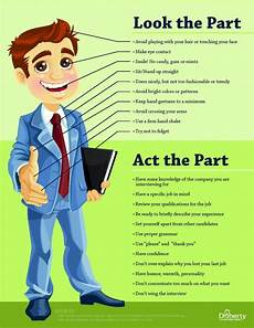 Advice For Interviews Look The Part Amp Act The Part How To Prep For Your Job
