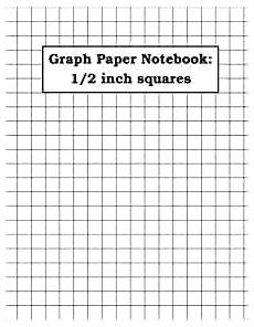 Large Graph Paper 1 Inch Squares Amazon Com Graph Paper Notebook 1 2 Inch Squares 100