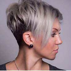 kurzhaarfrisuren frauen mit cut haircuts for faces 2019