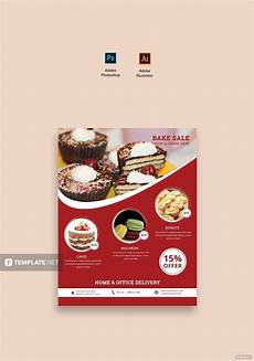 Bake Sale Template Word Free Printable Bake Sale Flyer Template In Adobe Photoshop