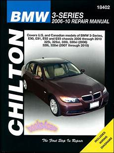 Bmw Shop Manual Service Repair Book Chilton 3 Series E90