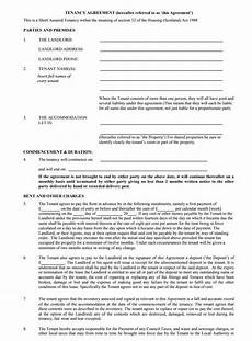 Sample Tenancy Agreement Doc Tenancy Agreement Templates Free Download Edit Print