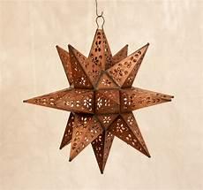 Moravian Tin Star Light Tin Moravian Star Drop Light Large Custom Metal