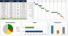 Project Management Template For Excel Free Excel Project Management Templates