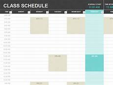 Teacher Weekly Schedule Template 9 Free School Schedule Templates In Ms Word And Ms Excel