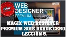 Curso Web Design Curso De Magix Web Designer Premium 05 Crear Una Web Desde