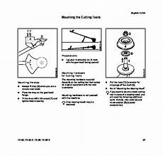 Stihl Fs 80 85 Trimmer Owners Owners Manual English