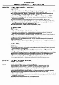 Rn Duties For Resume Charge Nurse Resume Mt Home Arts