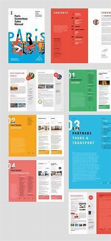 Design Layout Paris Convention And Visitors Bureau Rebranding