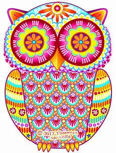 Colorful Owl Art Colorful Owl Art By Thaneeya Mcardle Thaneeya Com