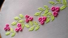 embroidery stitch border design
