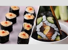 How To Make Fresh Japanese Inspired Sushi At Home ? Tasty