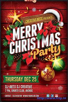 Work Christmas Party Flyer Best 35 Christmas Amp New Year Flyer Templates For 2014