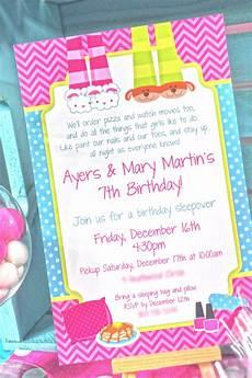 Girl Sleepover Invitations Pancakes And Pajamas Birthday Party Invitations Pajama