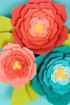 Paper Flower Template Giant Paper Flowers Template Tips And Tricks To Make It