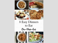 8 On The Go Dinners for Kids   The Write Balance
