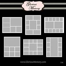 Photos Layout Templates Photoshop Collage Template Cyberuse