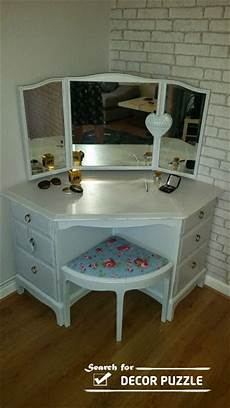 special contemporary corner dressing table styles for