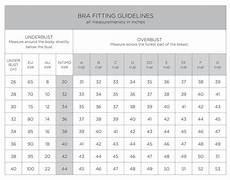 Full Bra Size Chart Sizing Intimo