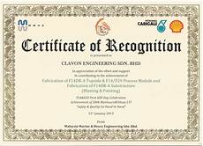 What Is Certificate Of Recognition Home Clavon