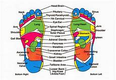 Foot Chart Earthing The Health Benefits Of Being Barefoot