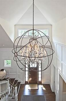 Entry Room Lighting How To Determine The Right Height For Your Foyer Chandelier
