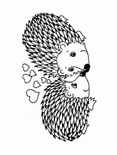 hedgehog coloring pages and print hedgehog