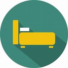 bed icon colorful shadow iconset graphicloads