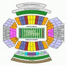 Nebraska Cornhuskers Memorial Stadium Seating Chart Memorial Stadium Seating Chart Nebraska Football