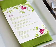 Sample Menu Cards Wedding Menu Card Wording What To Include In Your Wedding