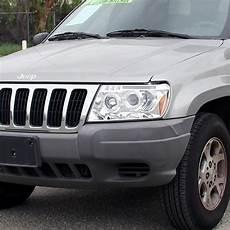 04 Jeep Grand Cherokee Lights Dual Halo Led Projector Headlights For 99 04 Jeep Grand
