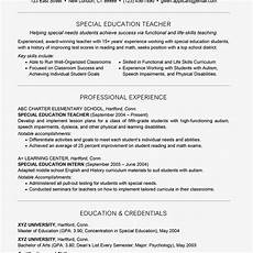 special education teacher assistant resume special education teacher resume example