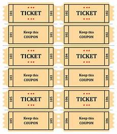 Numbered Event Tickets 15 Free Raffle Ticket Templates Follow These Steps To