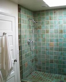 glass tile bathroom ideas tiled shower stalls create distinctive and stylish shower