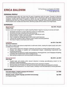 Online Resume Editor Editor Resume Sample Get Things Moving