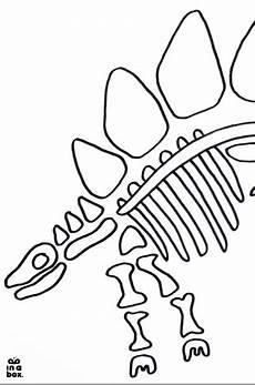 diy und printable dino knochen aus salzteig dinosaurier