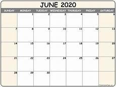 Write On Calendar 2020 June 2020 Calendar Free Printable Monthly Calendars